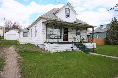 Washburn Single Family Home For Sale: 818 4th Avenue