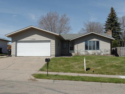 Bismarck Single Family Home For Sale: 1734 20th Street