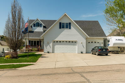 Bismarck Single Family Home For Sale: 2540 Sharps Loop