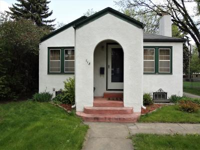 Bismarck Single Family Home For Sale: 118 C Avenue W