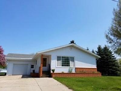 Beulah, Hazen Single Family Home For Sale: 106 3rd Avenue W