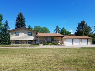 Beulah, Hazen Single Family Home For Sale: 708 Hwy 49 N