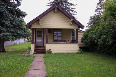 New Salem Single Family Home For Sale: 206 5th Street N