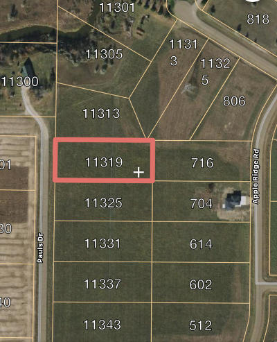 Residential Lots & Land For Sale: 11319 Pauls Drive