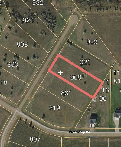 Residential Lots & Land For Sale: 909 Apple Ridge Road