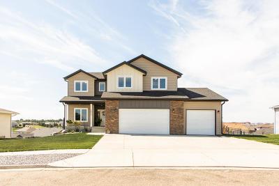 Bismarck Single Family Home For Sale: 3850 Lone Peak Drive