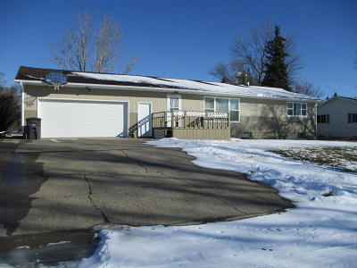 Washburn Single Family Home For Sale: 1051 Custer Drive