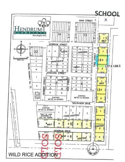 Hendrum Residential Lots & Land For Sale: 220 Todd Street S Street