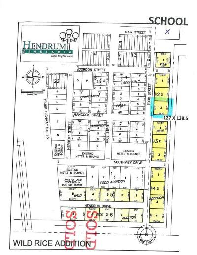Hendrum Residential Lots & Land For Sale: 230 Todd Street South Street