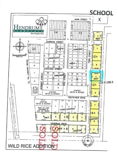 Hendrum Residential Lots & Land For Sale: 310 Todd Street South Street