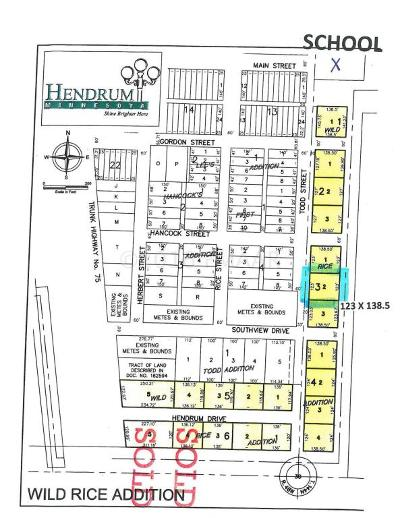 Hendrum Residential Lots & Land For Sale: 320 Todd Street South Street