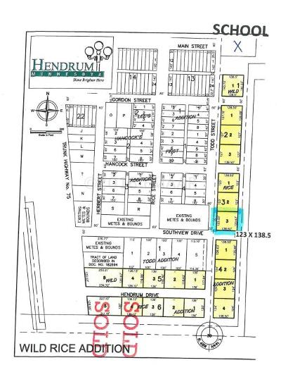 Hendrum Residential Lots & Land For Sale: 330 Todd Street South Street