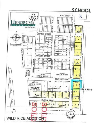 Hendrum Residential Lots & Land For Sale: 410 Todd Street South Street
