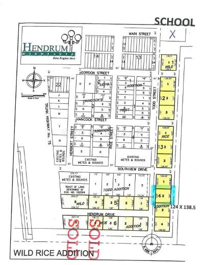 Hendrum Residential Lots & Land For Sale: 420 Todd Street South Street