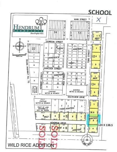 Hendrum Residential Lots & Land For Sale: 430 Todd Street South Street