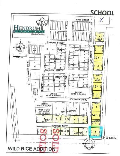 Hendrum Residential Lots & Land For Sale: 440 Todd Street S