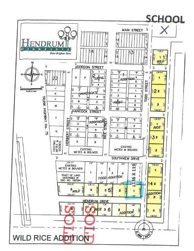 Hendrum Residential Lots & Land For Sale: 150 Hendrum Drive East Street