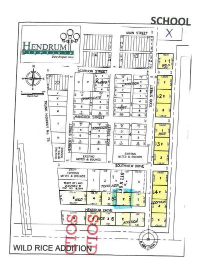 Hendrum Residential Lots & Land For Sale: 140 Hendrum Drive East Street