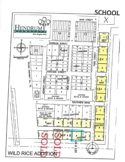 Hendrum Residential Lots & Land For Sale: 141 Hendrum Drive East Street