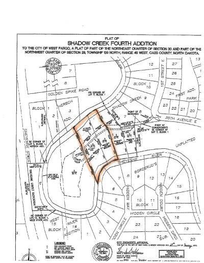 West Fargo Residential Lots & Land For Sale: 65 35 Avenue E