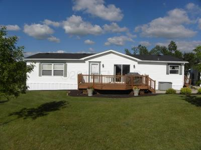 Frazee Single Family Home For Sale: 44300 Co Rd 151 --