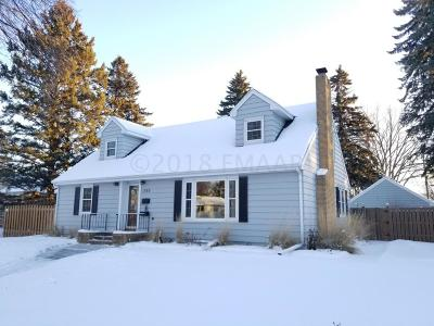 Fargo Single Family Home For Sale: 1333 2 Street N