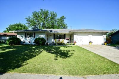 Fargo Single Family Home For Sale: 3402 Longfellow Road N