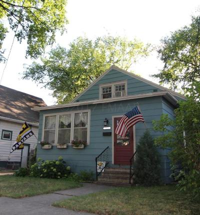 Fargo Single Family Home For Sale: 1016 12 Street N