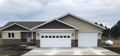 Milnor Single Family Home For Sale: 106 Sebens Drive