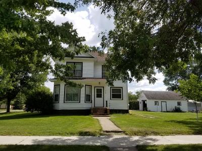 Milnor ND Single Family Home For Sale: $59,900