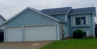 West Fargo Single Family Home For Sale: 62 Evergreen Circle