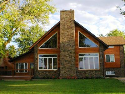 Lake Park Single Family Home For Sale: 14474 Globstad Beach Road