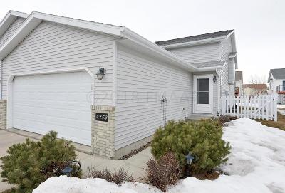 Fargo Single Family Home For Sale: 4253 39 1/2 Avenue S