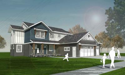 Fargo Single Family Home For Sale: 6257 Cattail Cv -- S