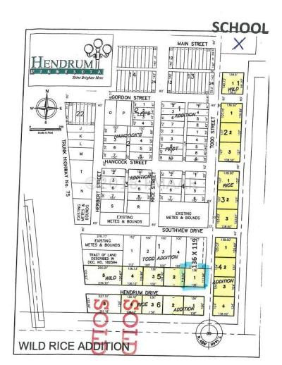 Hendrum Residential Lots & Land For Sale: 150 Hendrum Drive