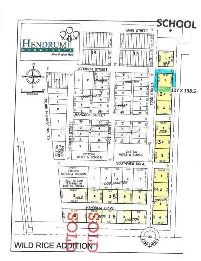 Hendrum Residential Lots & Land For Sale: 210 Todd Street S