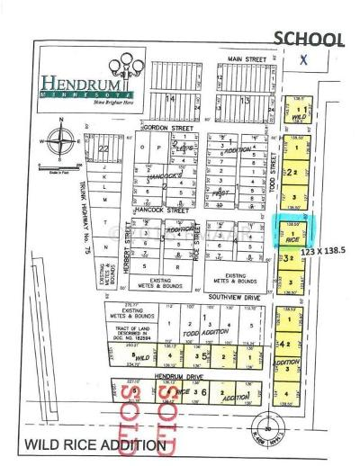 Hendrum Residential Lots & Land For Sale: 310 Todd Street S