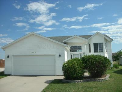 West Fargo Single Family Home For Sale: 1243 Diversion Drive