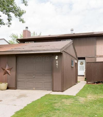 West Fargo Condo/Townhouse For Sale: 541 4 Avenue NW