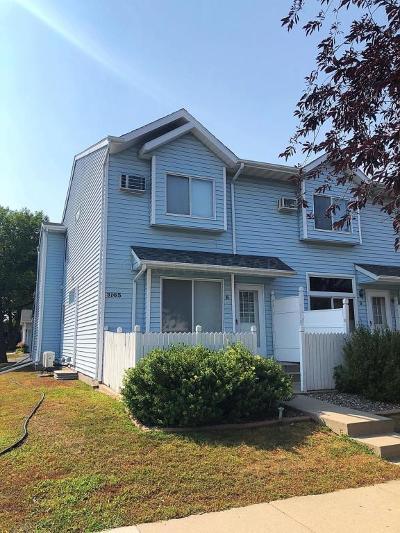 Fargo Condo/Townhouse For Sale: 3165 17 Street S #UNIT E