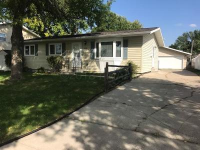 Moorhead Single Family Home For Sale: 1116 19th Street N