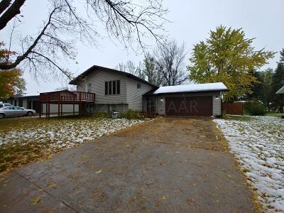 Hawley MN Single Family Home For Sale: $204,900