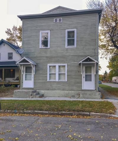 Multi Family Home For Sale: 301 11th Street NW