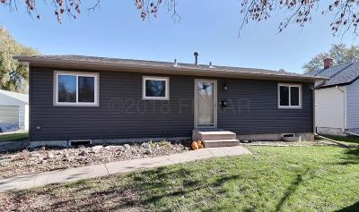 West Fargo ND Single Family Home For Sale: $165,000