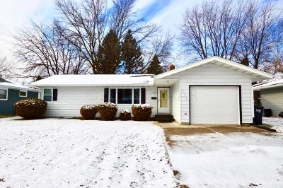 Fargo ND Single Family Home For Sale: $190,000