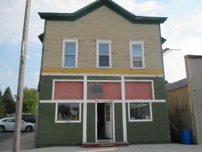 Fairmount ND Commercial For Sale: $60,000