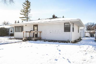 Moorhead MN Single Family Home For Sale: $195,000