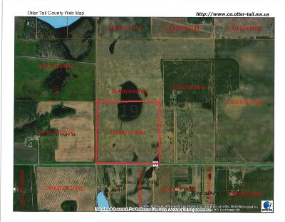 Perham Residential Lots & Land For Sale: Co Hwy 34 --
