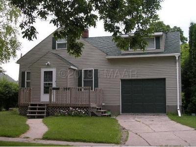 Ada Single Family Home For Sale: 304 3rd Avenue E