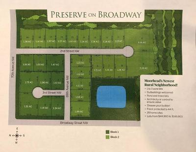 Moorhead Residential Lots & Land For Sale: 6910 2 Street NW